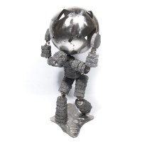 Atlas 44<br>(Concrete, Stainless Steel)
