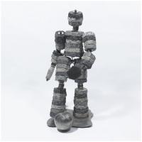 Le joueur<br>(Concrete, stainless steel)