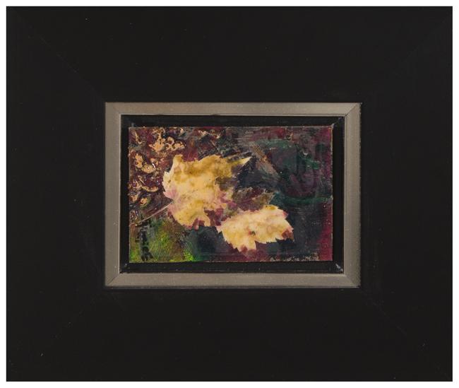 Automne 4<br>(Maple leaves)<br>Framed