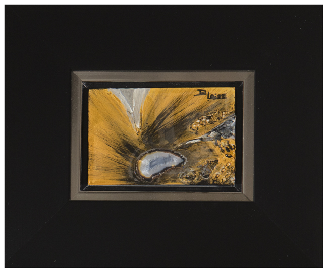 Floral 201<br>(Grey agate)<br>Framed