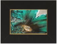 Floral 304<br>(Caramel agate)<br>Framed