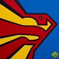 Superman Exploded Optic