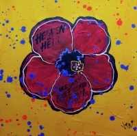 Flower no. 4 - Tribute to Warhol