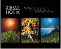 01 Livre/Book - Stefan Horik<br>Charlevoix l'aventure en couleurs