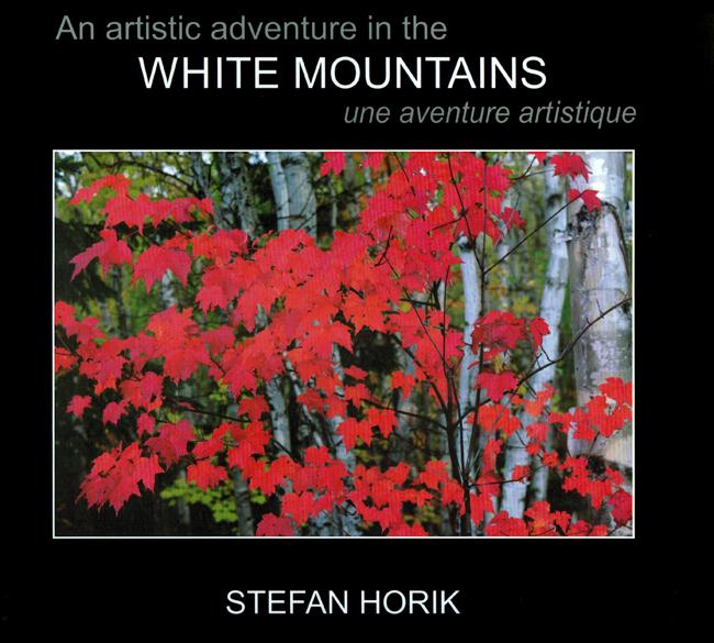 03 Livre/Book - Stefan Horik<br>White Mountains une aventure artistique