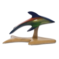 Le dauphin irisé