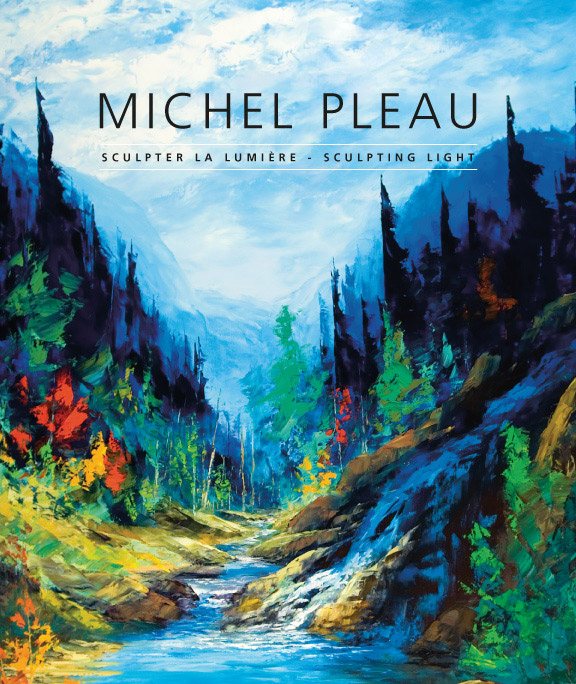 01 Livre/Book  Michel Pleau<br>Sculpter la lumière/<br>Sculpting light